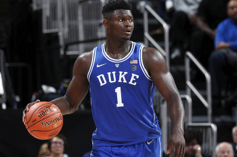 baf7bc6cf4c Dahntay Jones  Zion Williamson Could Be Duke GOAT After Debut vs. Kentucky