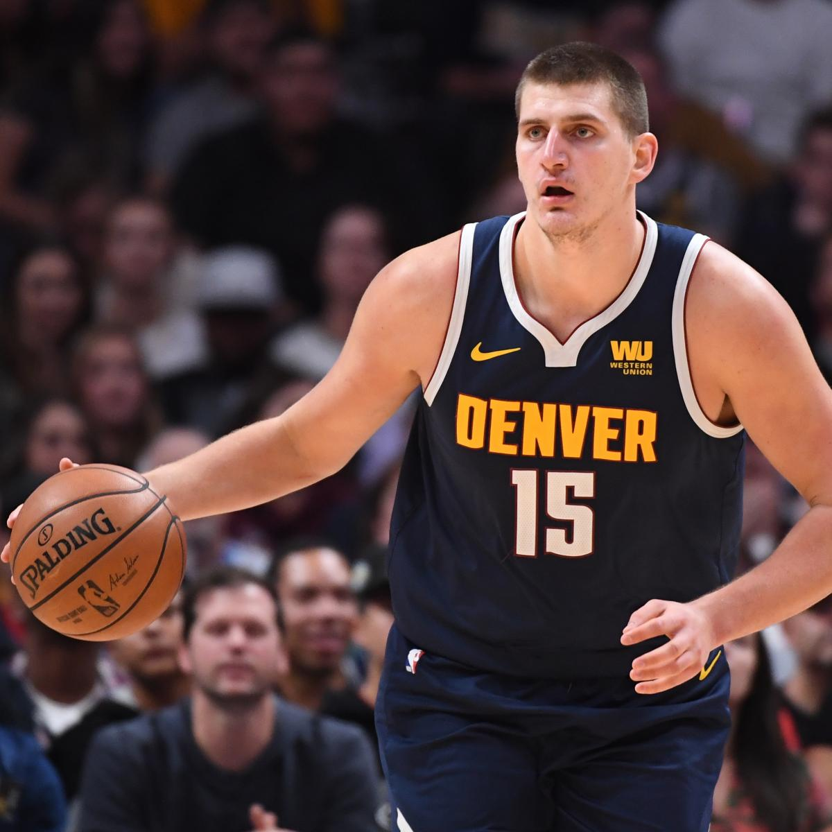 Denver Nuggets Basketball Reference: Nikola Jokic Fined $25K For Offensive Language In