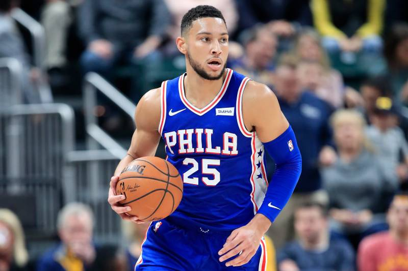 Joel Embiid Ben Simmons Dominant As 76ers Beat Pacers