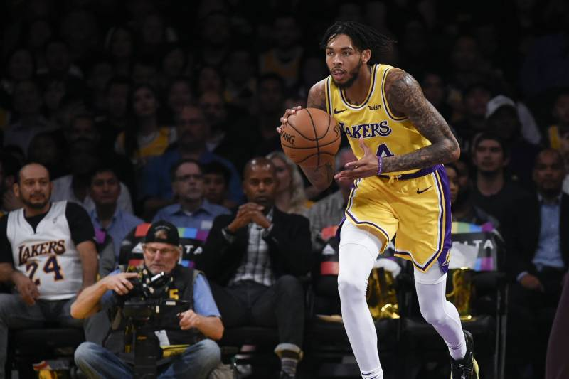 9e65c2907d7 Lakers News  LeBron James Says  Nobody Else  Can Play at Brandon Ingram s  Pace