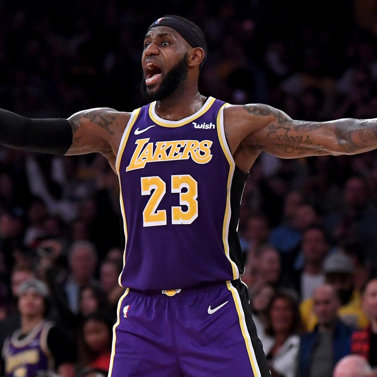 34fb5298a6d Magic Johnson, Lakers Learning Quickly Who Runs LeBron's Teams | Bleacher  Report | Latest News, Videos and Highlights