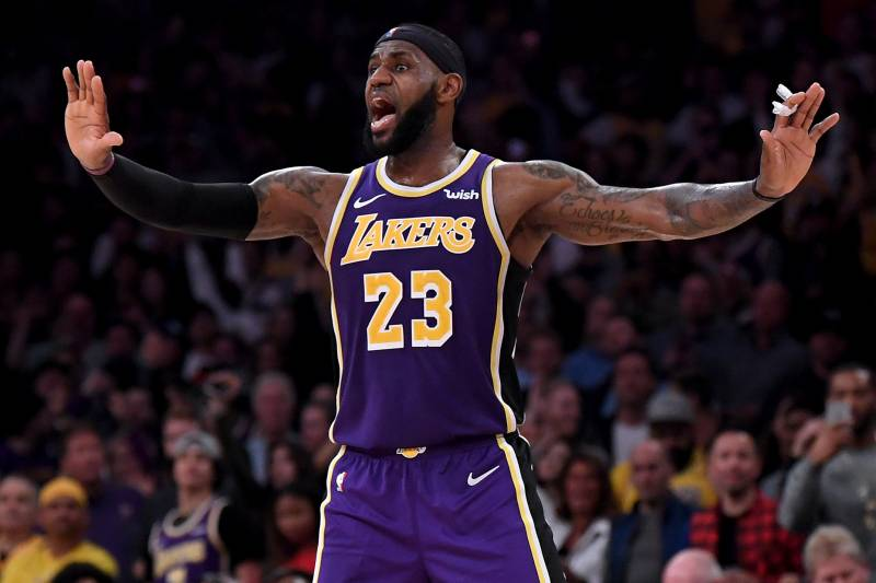 Lebron Lakers >> Magic Johnson Lakers Learning Quickly Who Runs Lebron S