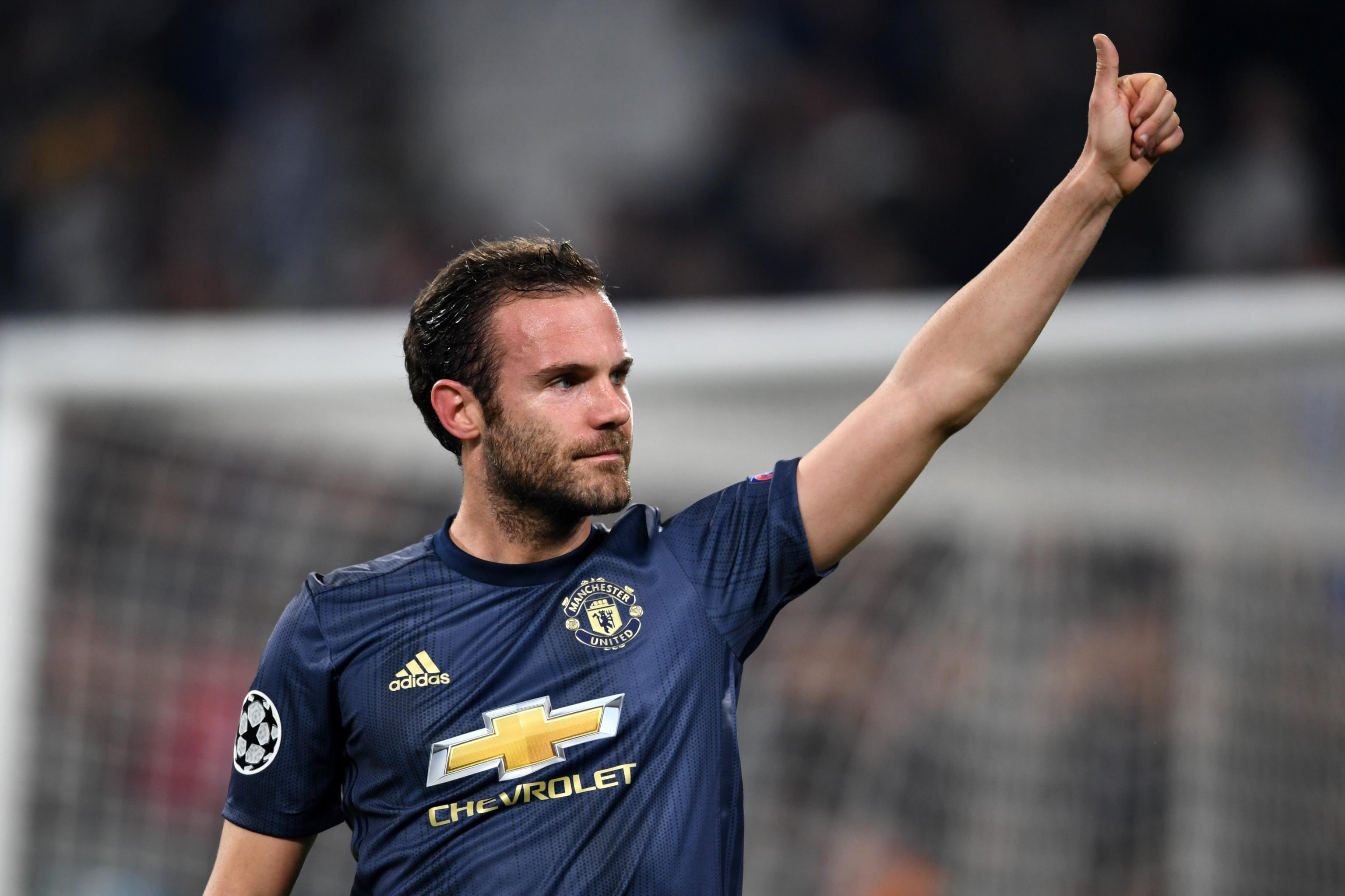 Juan Mata Reportedly Still Waiting On New Manchester