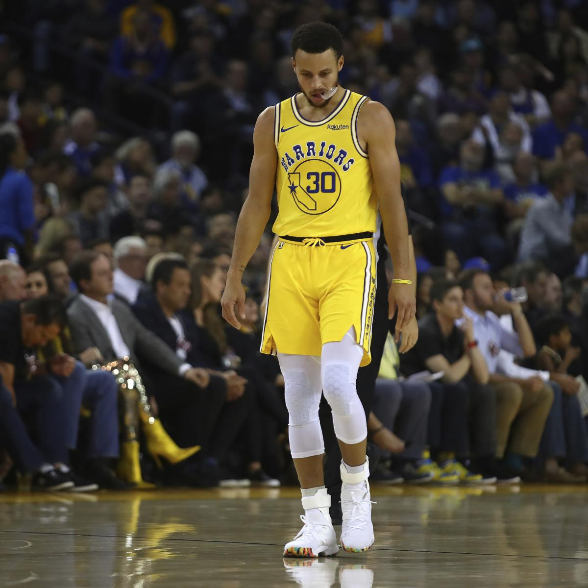 Stephen Curry's Injury Diagnosed As Strained Groin; Ruled