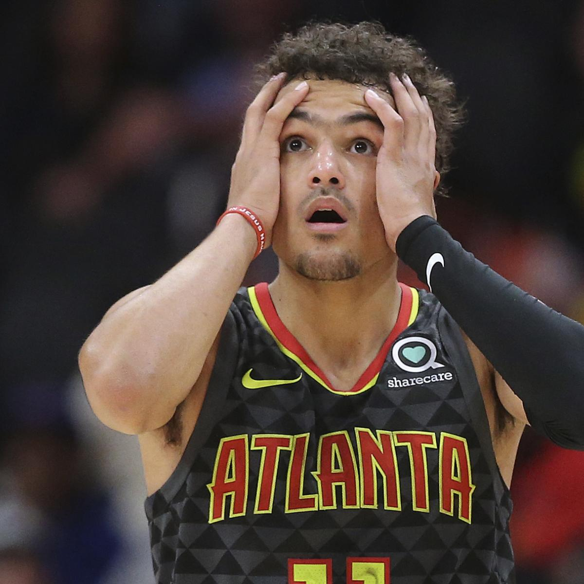 Nba Rookie Award Predictions For 2018 19 Season: Trae Young's Hawks Teammates Filled His Audi Car With