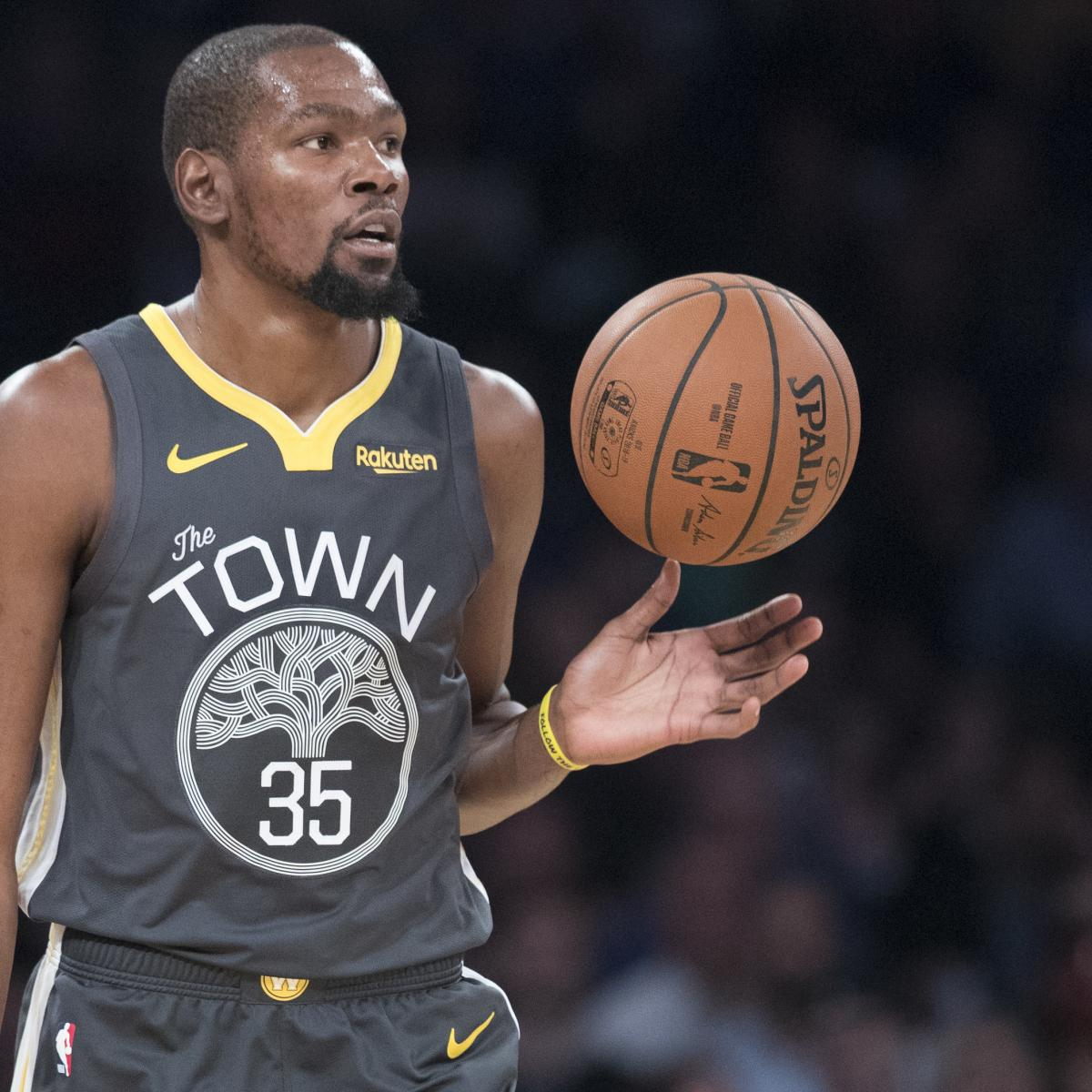 Warriors New Stadium Opening: Kevin Durant Couldn't Help Thinking About Warriors Future