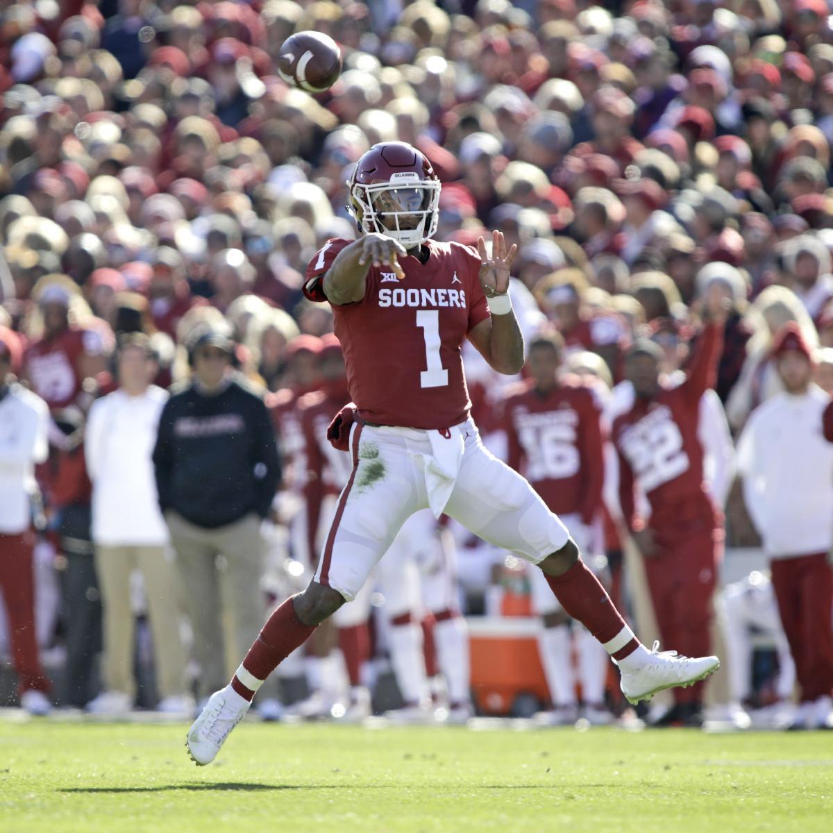 Highlights: Kyler Murray, Oklahoma Beat Oklahoma State in ...