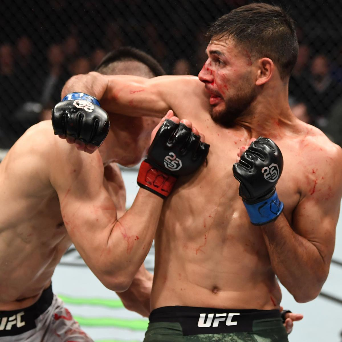 9e37c82a856 UFC Fight Night 139 Results: Yair Rodriguez Knockout Headlines Main ...