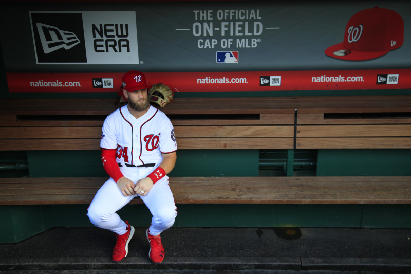 Bryce Harper Sweepstakes Winner Will Have to Risk $350M Black Hole Contract