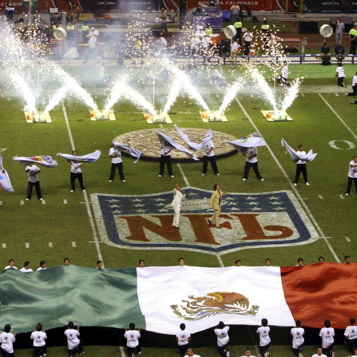 f31158de4110a Report  NFL Plans on Chiefs vs. Rams Staying in Mexico City Despite Field  Issues