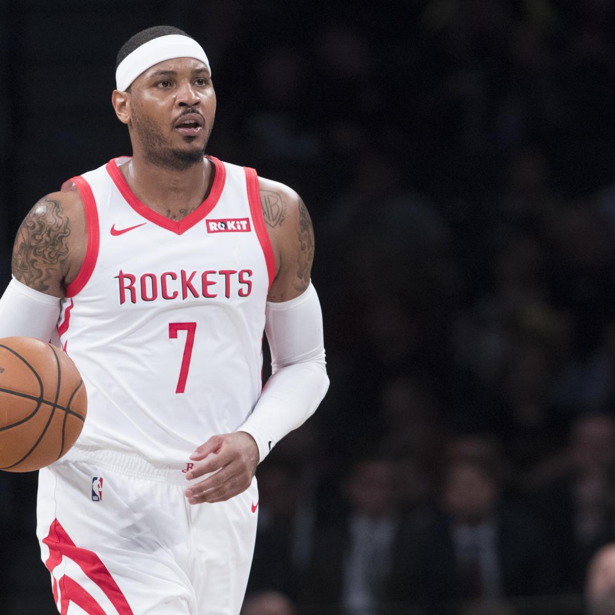 Houston Rockets Where To Watch The Upcoming Match Espn: Carmelo Anthony Rumors: Clippers Not Interested In Signing