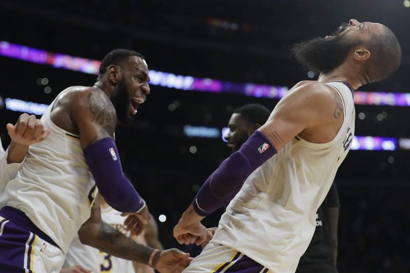 8072d61ca Lakers News  Tyson Chandler Says He Chose LA over Warriors After Suns  Release