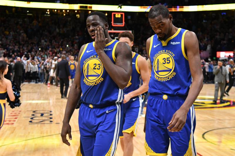 febf7670c45a Report  Draymond Green Said  Who the F--k You Talking To   to Kevin ...