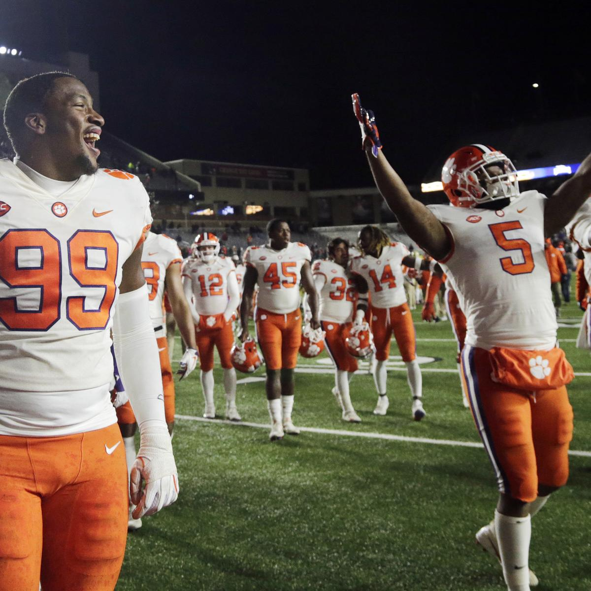 College Football Playoff 2018: Rankings and Reaction from ...