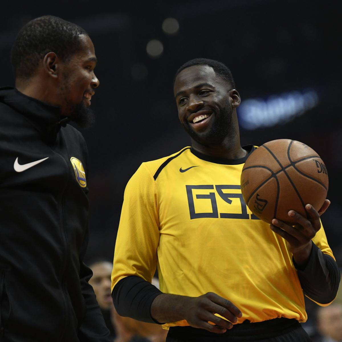 Warriors Come Out To Play Bleacher Report: Draymond Green, Warriors Can't Be Mad At Kevin Durant