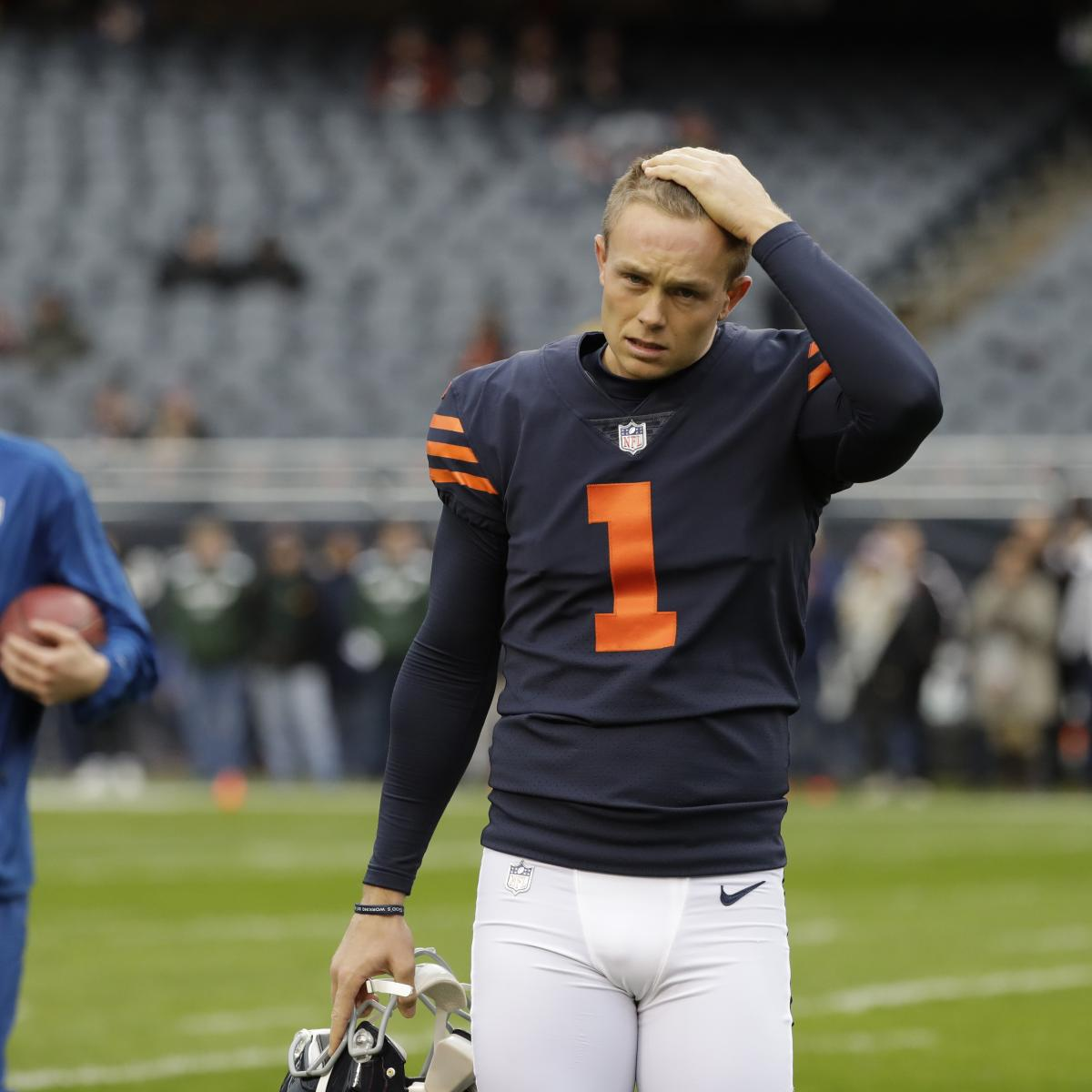 554182d693a Cody Parkey to Kick Extra Practice FGs at Soldier Field After Week 10  Struggles