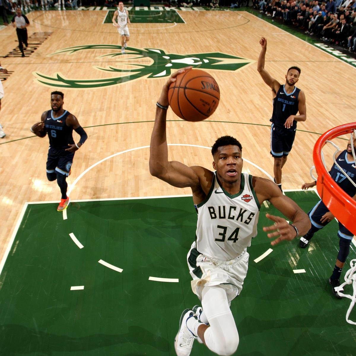 MVP Candidate Giannis Antetokounmpo Still Only Scratching ...