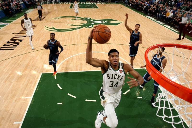 Mvp Candidate Giannis Antetokounmpo Still Only Scratching At