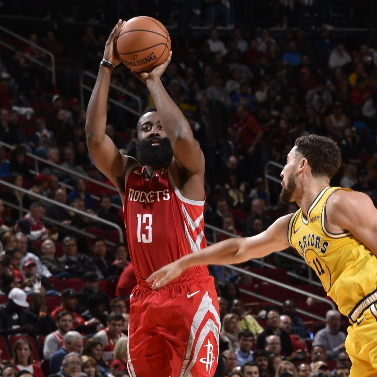 James Harden And Stephen Curry: Warriors Lose 107-86 To James Harden, Rockets In Stephen