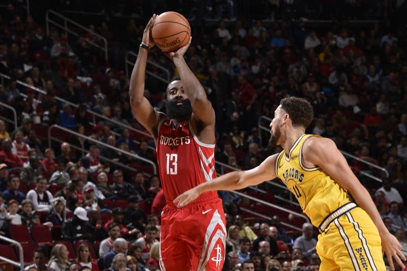 6fe239522fc Warriors Lose 107-86 to James Harden