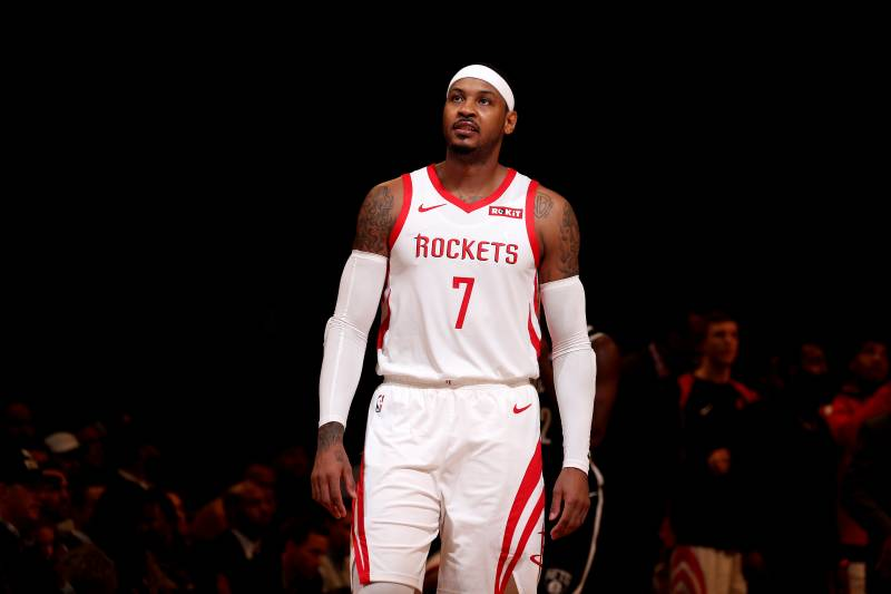 097bfe1c7767 Carmelo Anthony Recruited by Puerto Rico National Team After Rockets Part  Ways
