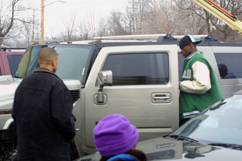 18ea16aaf7a 2003 Hummer H2 Used by LeBron James in High School Set for Auction ...