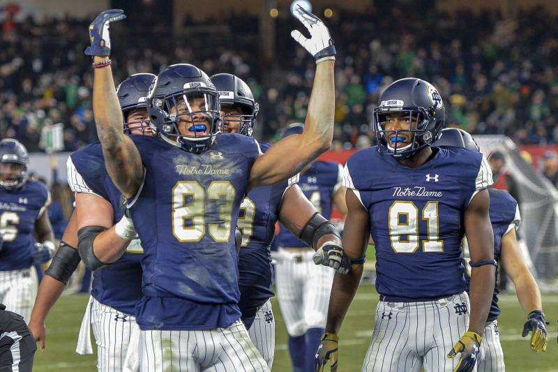 ef8709b70 Notre Dame Is Blowing Up the College Football Playoff System ...