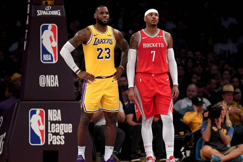 4830cf0ef Lakers Rumors  Buzz on Carmelo Anthony and Team s Pursuit of Anthony ...