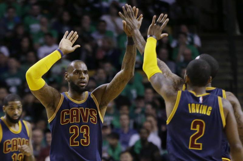 2ade62810 LeBron James: Kyrie Irving Trade 'Beginning of the End' of Cavaliers ...