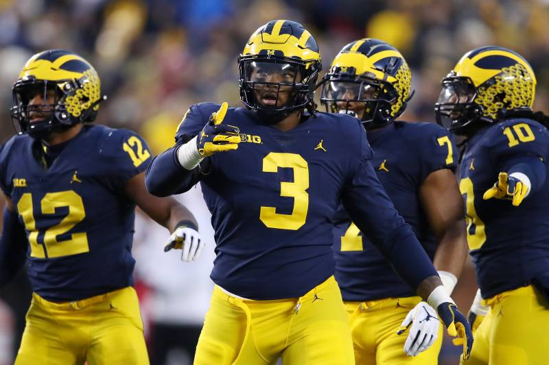Michigan Wolverines Vs Ohio State Buckeyes Odds College