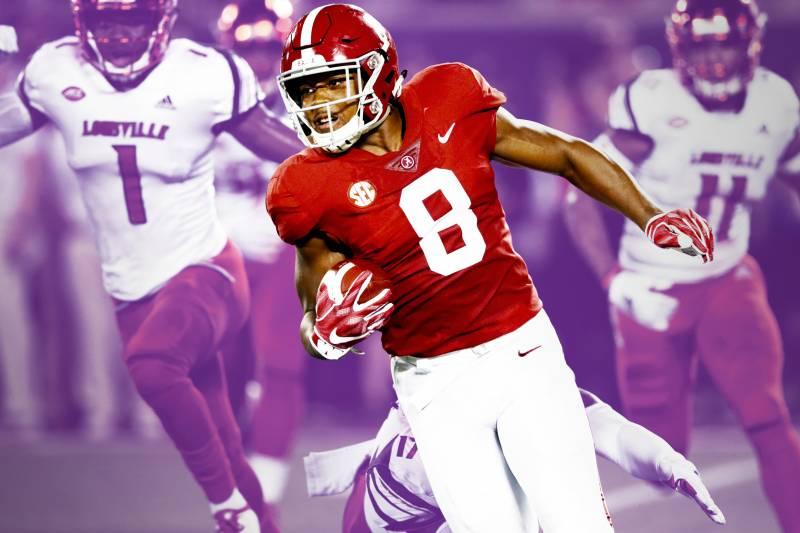 Alabama Running Back Josh Jacobs Is Living the Impossible Dream