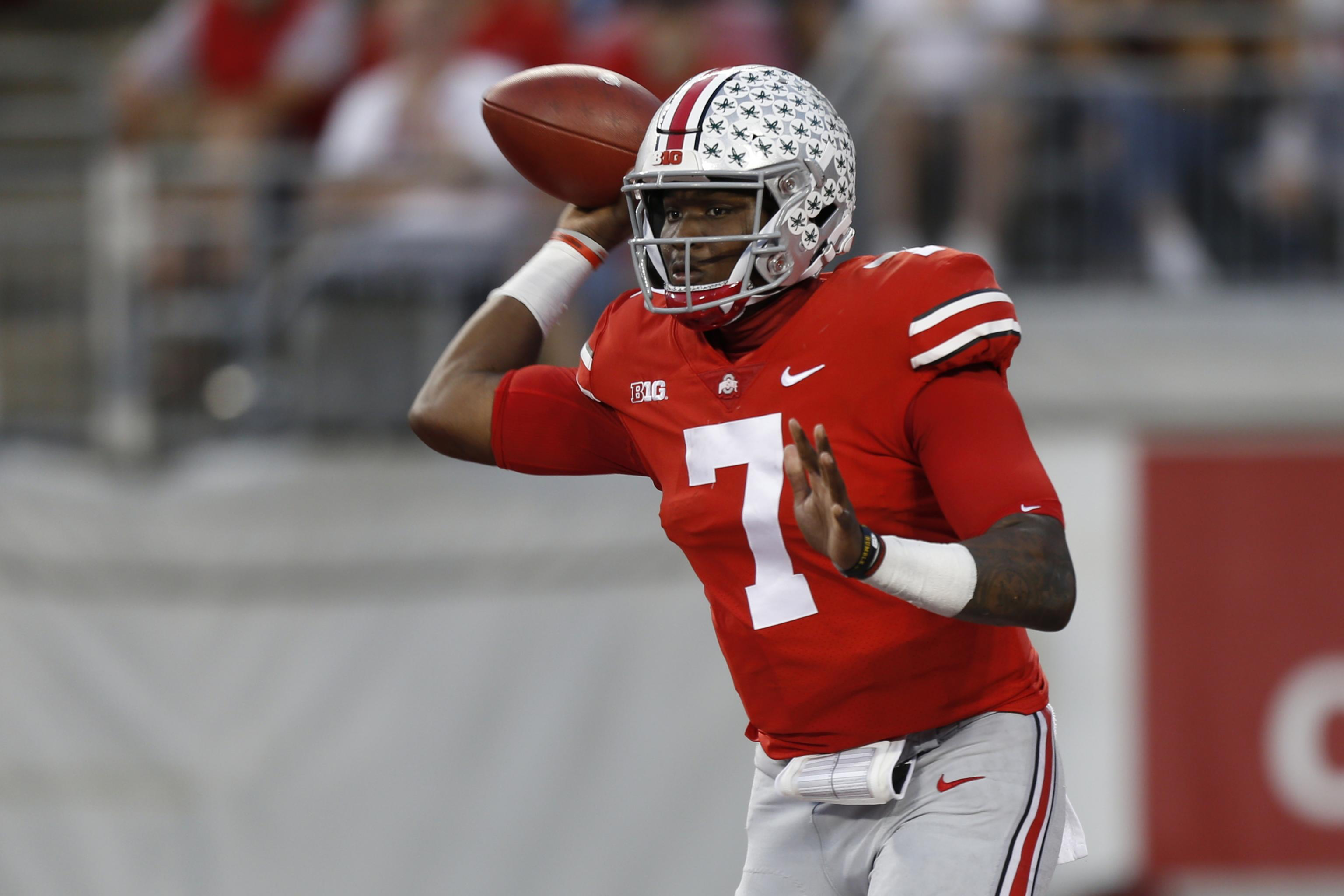 purchase cheap bf4d4 d31fc Dwayne Haskins Declares for 2019 NFL Draft After Sophomore ...