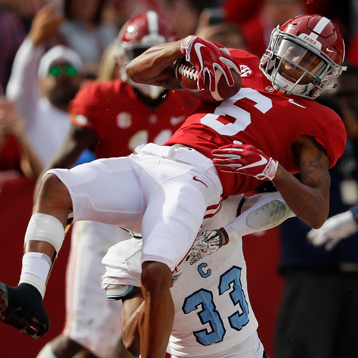 College Football Playoff Rankings 2018: Week 13 Poll