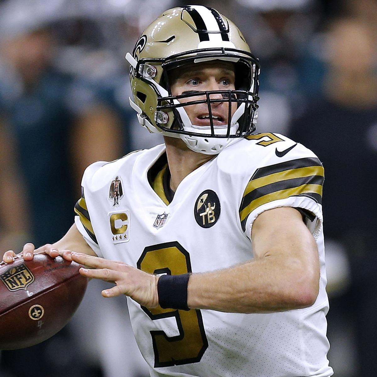 Saints Tickets 2019 Get 5 Back On Saints Game Tickets: Drew Brees, Patrick Mahomes Lead All Players In 1st 2019