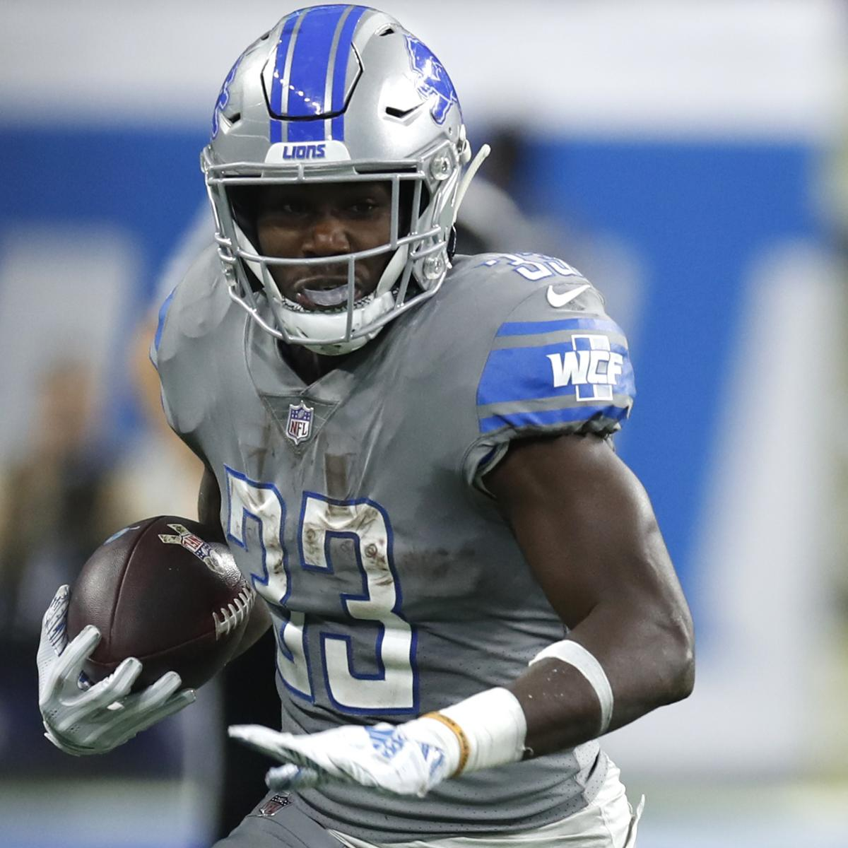Denver Broncos Vs Detroit Lions Live Score Highlights And: Lions Reportedly Place Kerryon Johnson On Injured Reserve