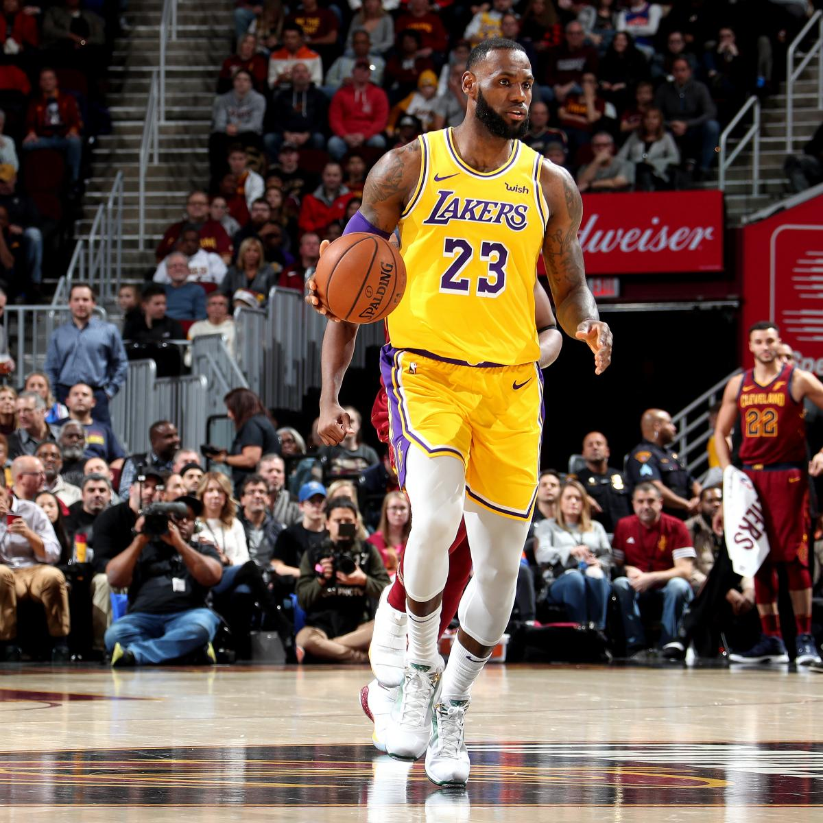 Lakers Vs Cavs >> Lebron James Drops 32 Leads Lakers To Win Vs Cavs In