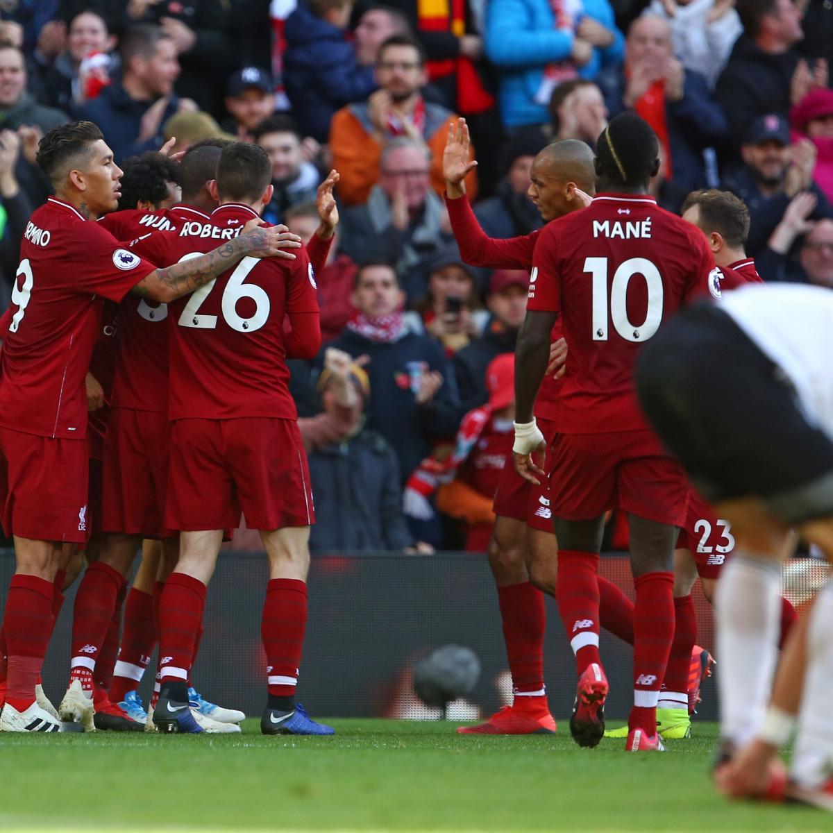 Live Streaming Soccer News Liverpool Vs Benfica Live: Watford Vs. Liverpool: Odds, Preview, Live Stream, TV Info