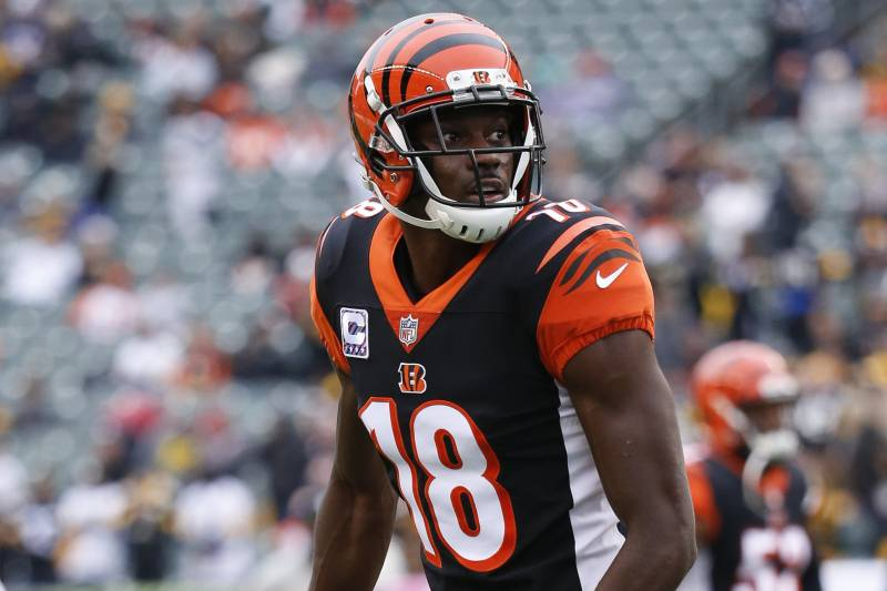 best service 26a7d ee355 Report: AJ Green Won't Return for Bengals vs. Browns Due to ...