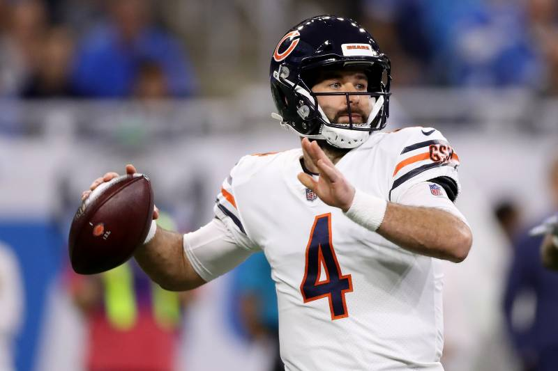 newest collection b0ba2 92ff8 Chase Daniel, Bears Beat Lions on Thanksgiving with Mitchell ...
