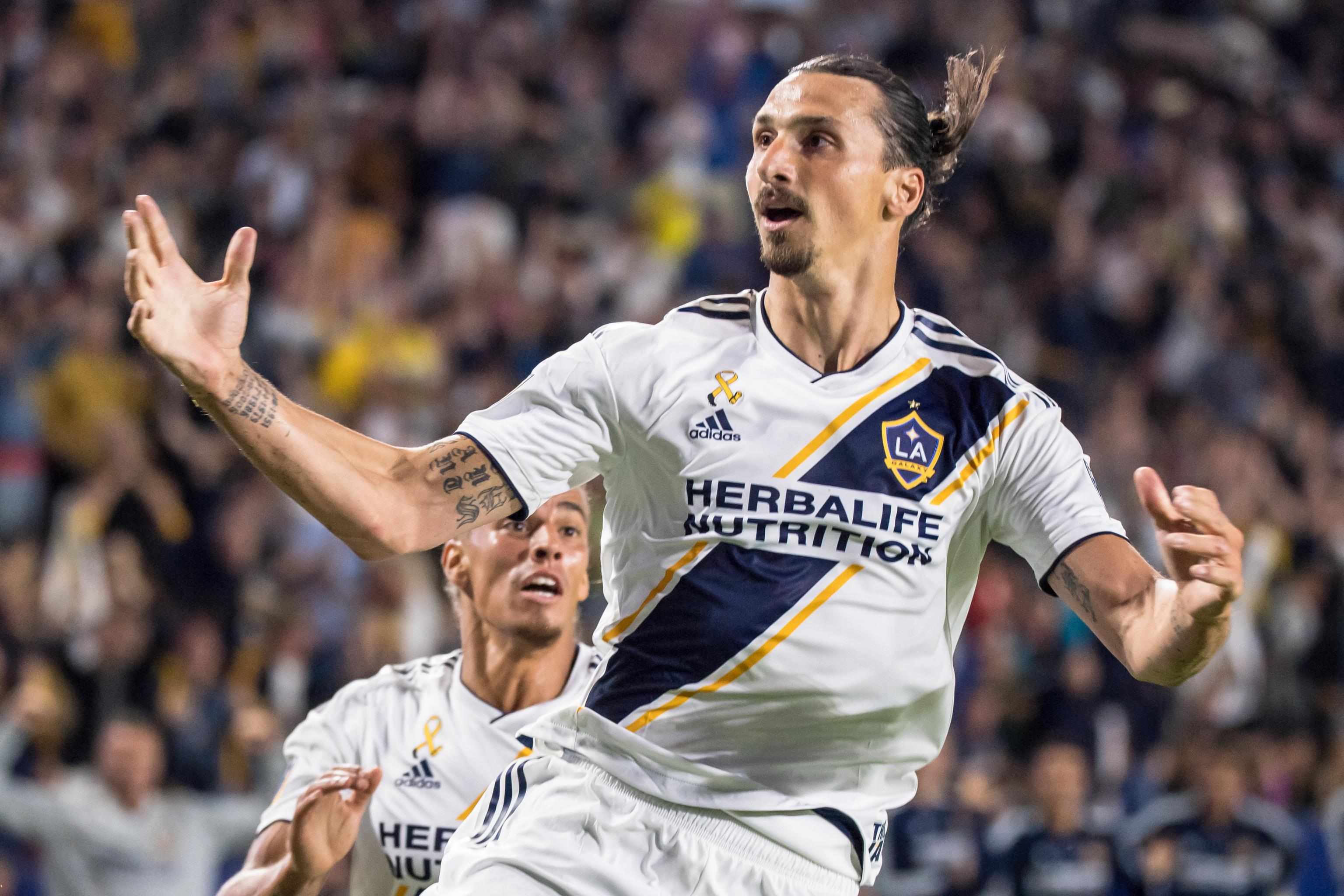 sports shoes c48a7 46084 Zlatan Ibrahimovic Will Reportedly Join AC Milan from LA ...