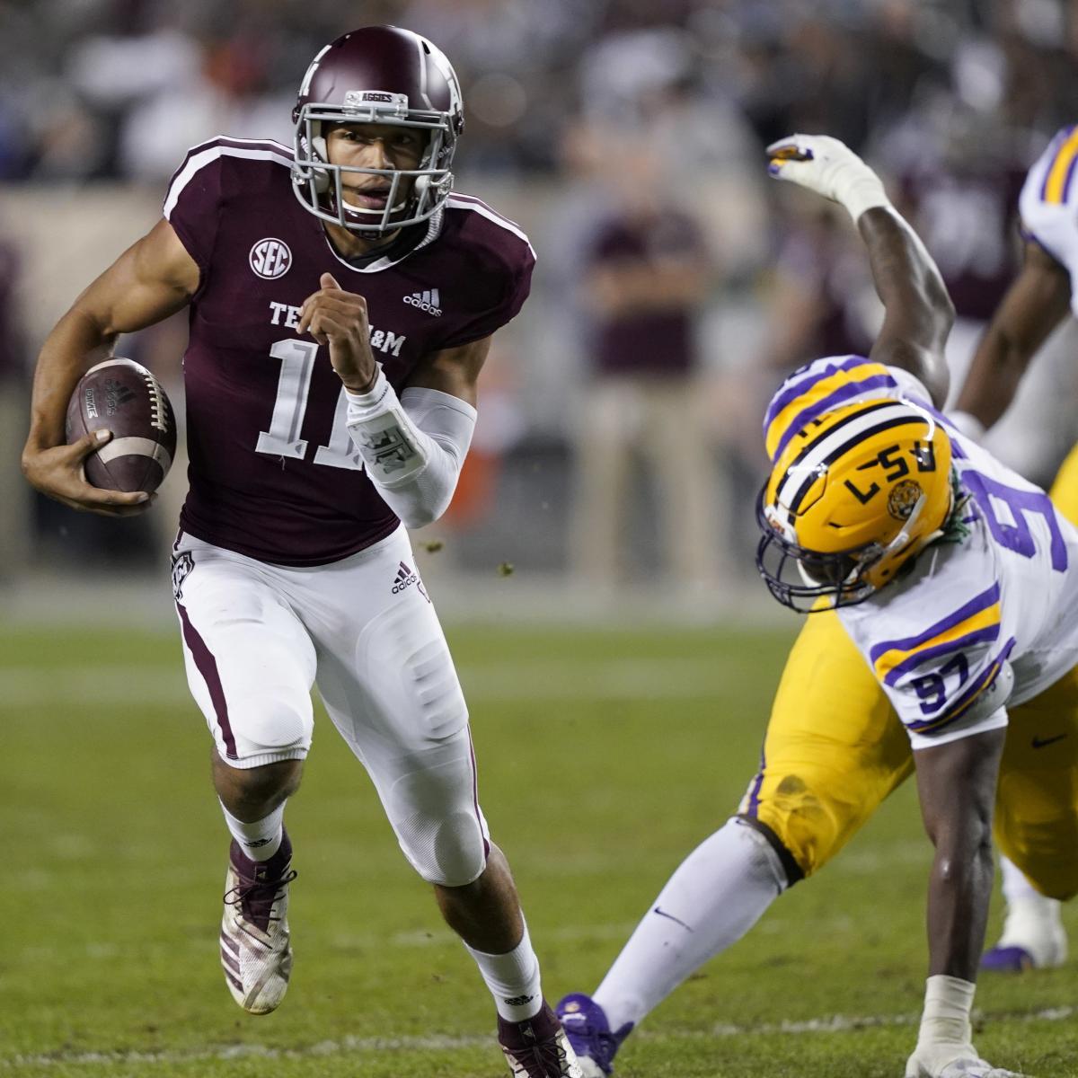 Kellen Mond, Texas A&M Outlast LSU, Joe Burrow in 7 ...