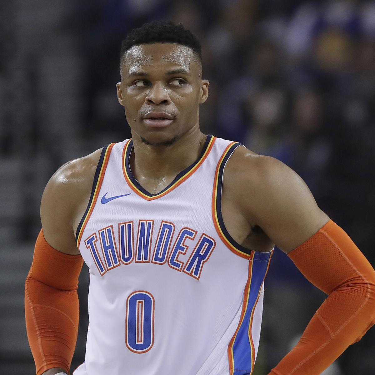 Russell Westbrook Shoots In Uniform For 2 Hours After