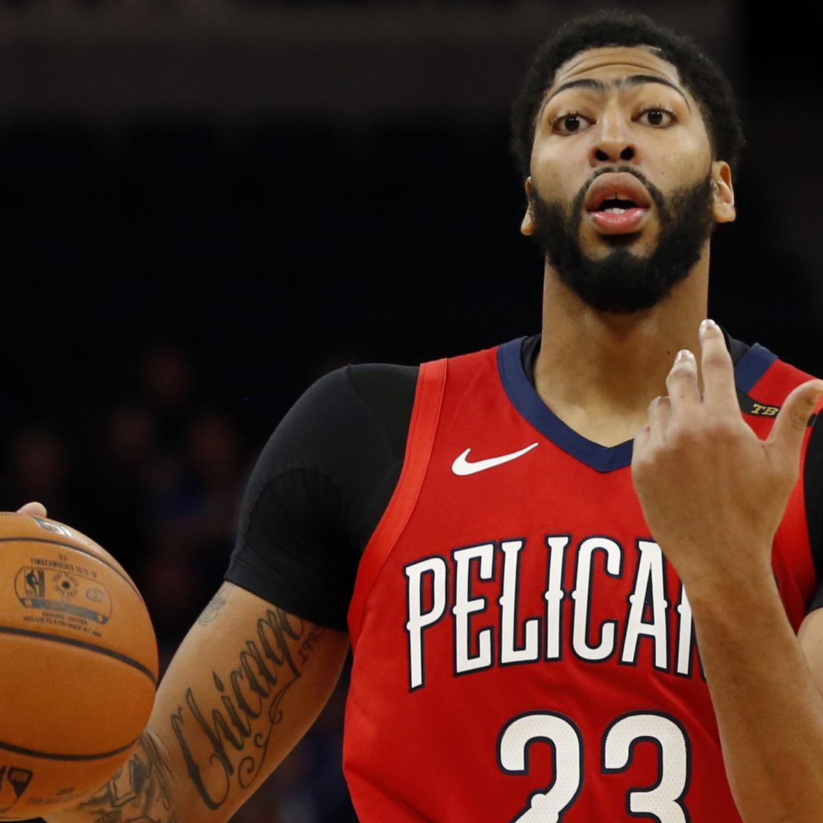 96bcd31b8b4 Lakers Rumors: Top Trade Buzz Involving Anthony Davis, Jimmy Butler and More