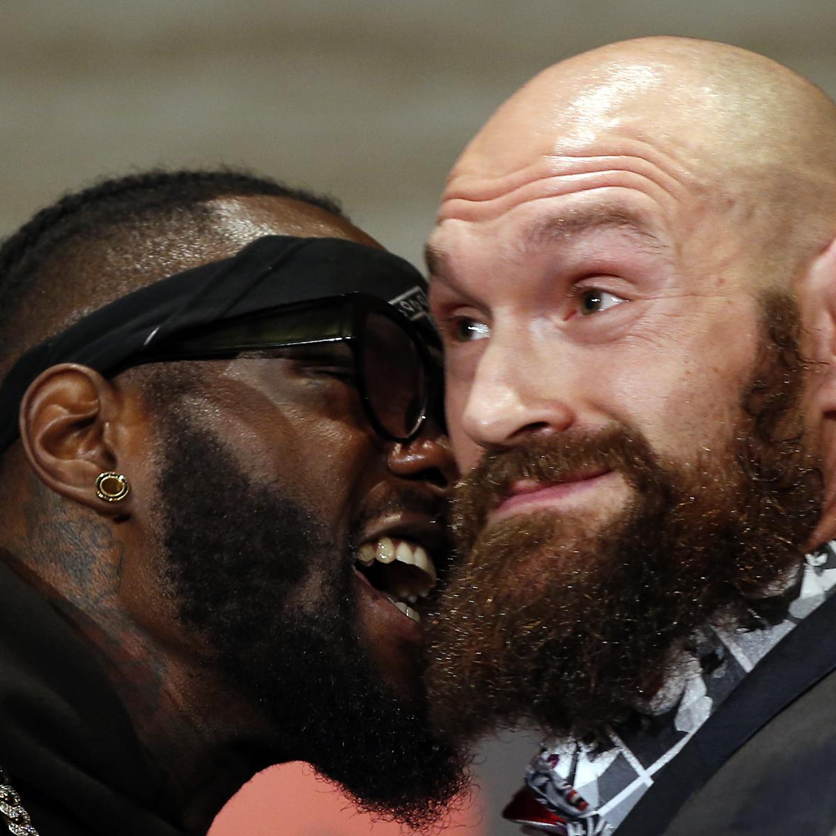 Deontay Wilder To Tyson Fury During Faceoff: 'I'm Gonna