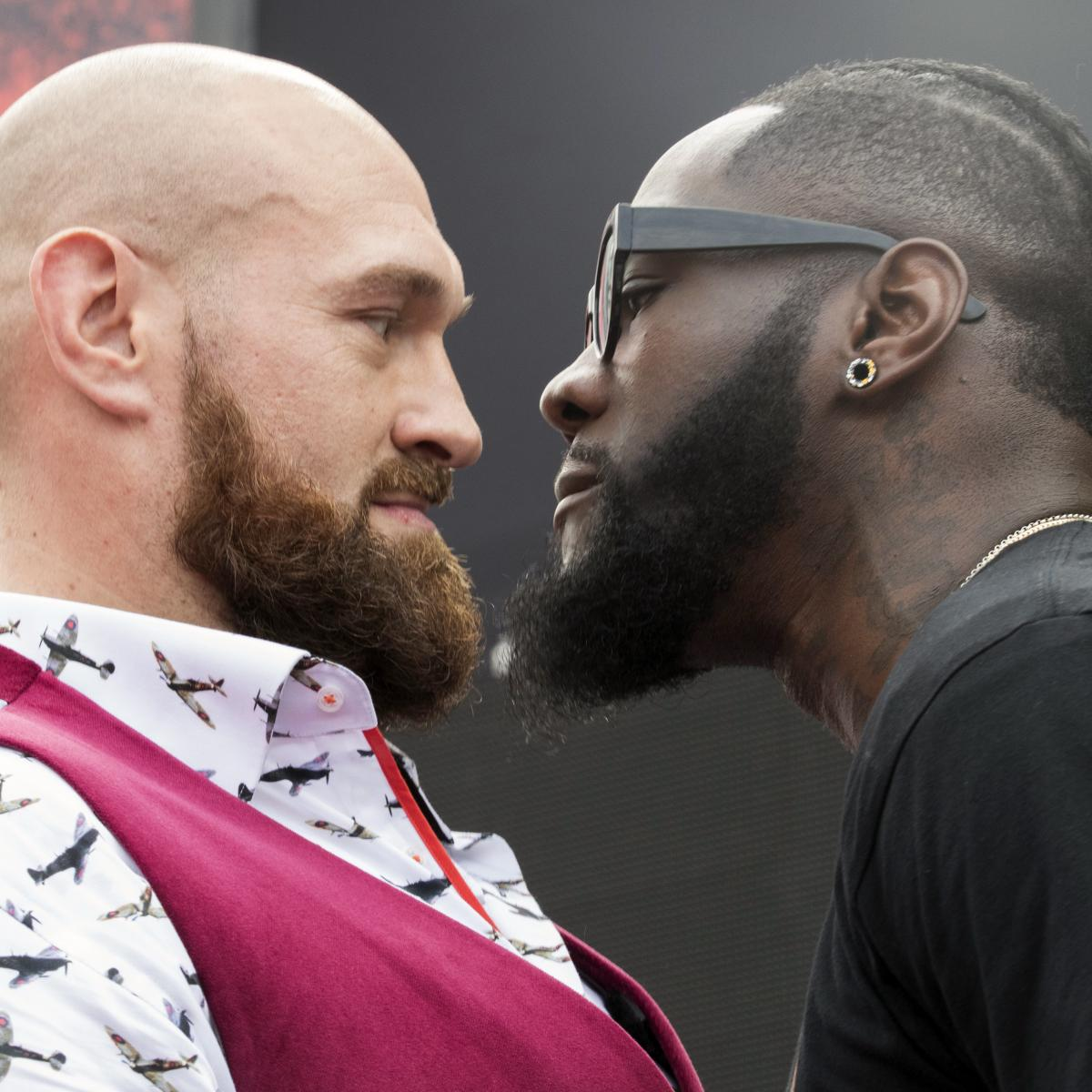 Deontay Wilder Vs. Tyson Fury: Fight Odds, Time, Date