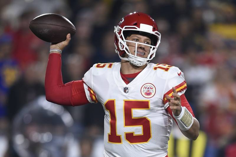quality design 7539a e5544 Star second-year quarterback Patrick Mahomes gets a chance to put his  signature on the