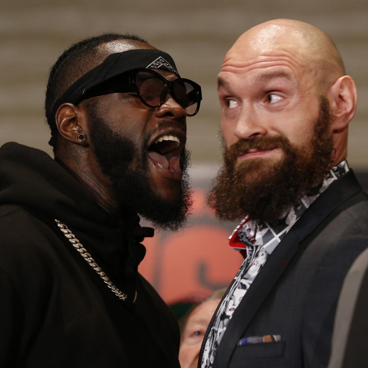Tyson Fury Vs. Deontay Wilder Ends In Controversial Draw