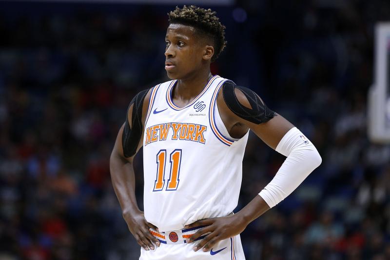 Knicks Trade Rumors: Frank Ntilikina Targeted by Magic