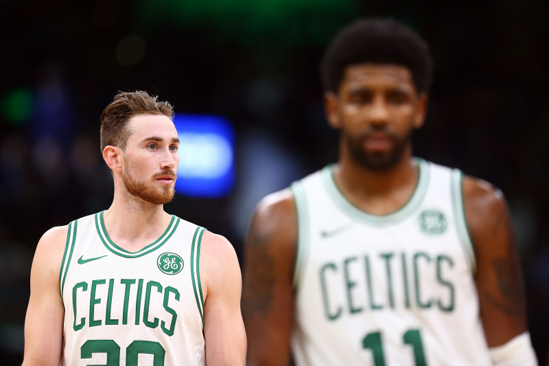 Kyrie Irving: Gordon Hayward Passing Too Much, Needs to Be More Aggressive