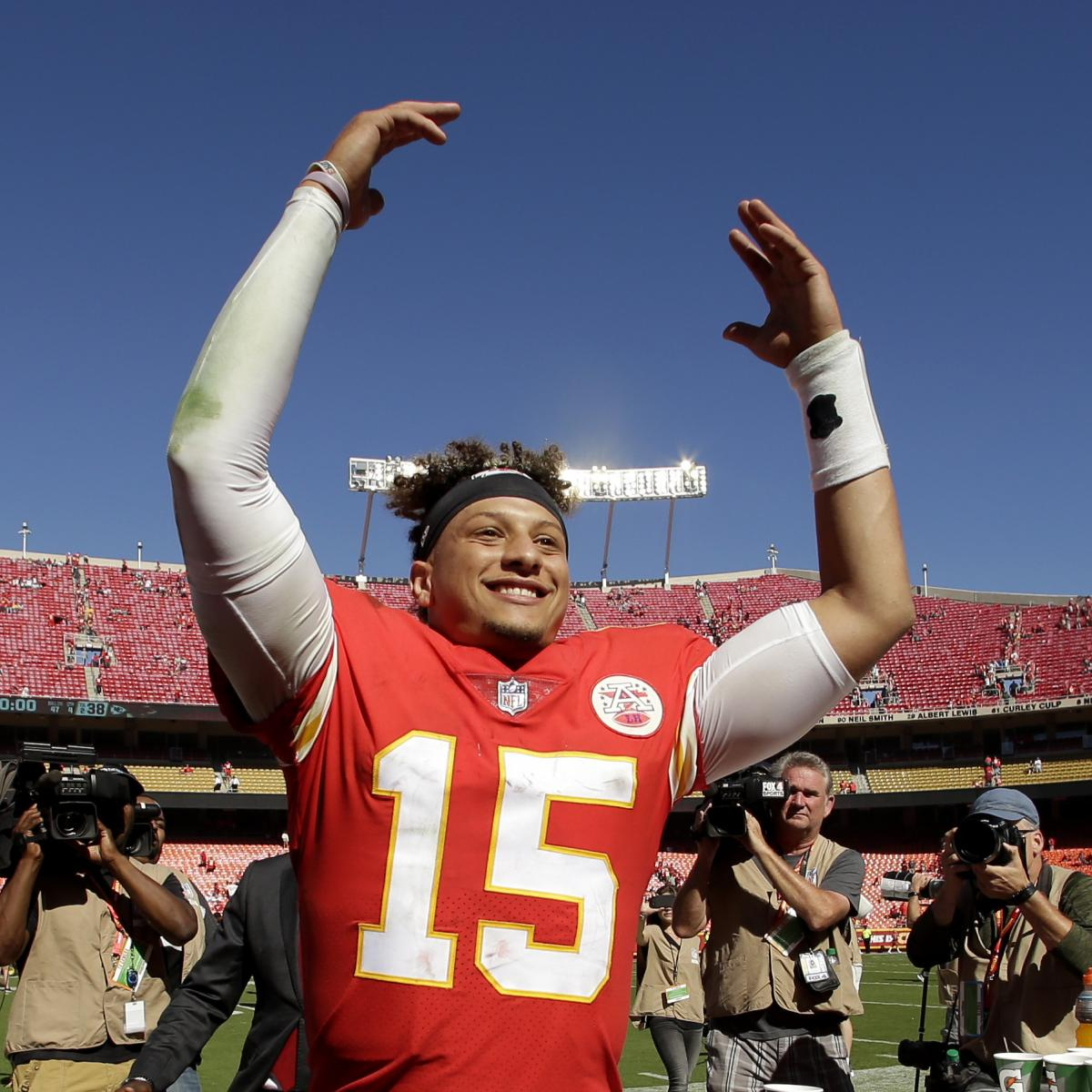 Conflicting Reports Emerge on Patrick Mahomes  Endorsement with Hunt s  Ketchup  8803ec2b4